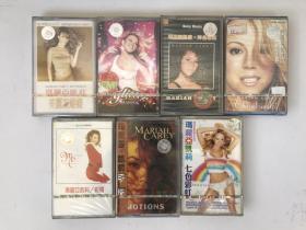 玛丽亚凯莉 磁带 库存7盒打包