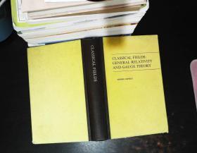 经典场广义相对论和规范场 英文版 【封皮书角磨损 书侧书页发黄有黄斑】