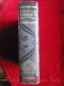 The Concise Oxford Dictionary of Current English(Eighth Edition, 8th)简明牛津英语词典(第8版 英语原版 精装本)