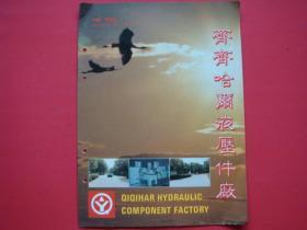 齐齐哈尔液压件厂(企业产品宣传画册)