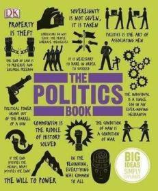 预售DK政治The Politics Book : Big Ideas Simply Explained