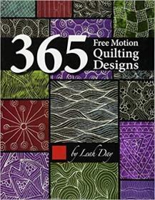 365 Free Motion Quilting Designs 自由运动绗缝设计 原版平装现货