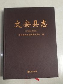 文安县志1986-2008(精装))