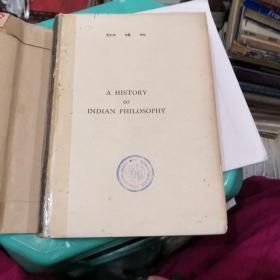 A history of indian philosophy volume I  1932年英文原版 无封皮(V146)(不缺页,不影响阅读)