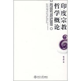 印度宗教哲学概论 /姚卫群 北京大学出版社