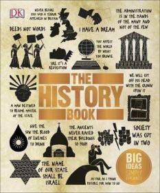 预售DK历史The History Book : Big Ideas Simply Explained