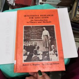 Qualitative Research for Education: An Introduction to Theory and Methods(V142)