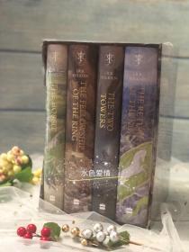 一印指环王霍比特人新版插画版英版合集the hobbit & the lord of the rings boxed set