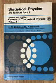 Statistical Physics, 3rd Edition, Part 1 (Volume 5 of Course of Theoretical Physics)  统计物理学
