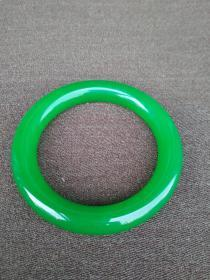 满绿翡翠手镯