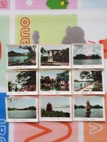 50年代明信片 :西湖风景彩色照片9张