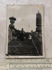 民国时期山西省忻州市五台山老道士老照片