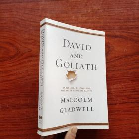 David and Goliath: Underdogs, Misfits, and the Art of Battling Giants 大卫和歌利亚 英文原版
