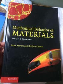 现货  Mechanical Behavior of Materials 2e 英文原版  材料力学行为 工程材料力学行为 工程材料的变形与断裂力学 疲劳力学 弹塑性断裂、损伤力学测试技术 基本原理、方法及其应用 Krishan Kumar Chawla, Marc André Meyers