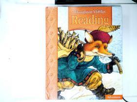 英文原版 包挂刷 Houghton Mifflin Reading Adventures Houghton Mifflin阅读冒险 2004年 432页
