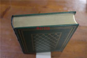 日文版 唐诗选 富兰克林图书馆  1984年出版 皮面豪华精装 三面烫金  绝版  品好包邮!