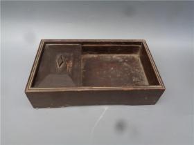 清代木雕烟丝盒