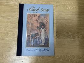 The Song of Songs,Which is Solomon's   《雅歌》,Russell Flint 插图,董桥:老天爷,Eric Gill和Robert Gibbings 和Russell Flint和John Buckland Wright画插图的旧版书跟我没缘我认了。精装