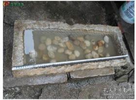 古代石雕《明清石盆鱼缸》【发物流运费由买家到付】