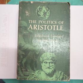 The Politics of Aristotle 亚里士多德 政治学 Oxford 牛津版 Barker英译 原版平装本(V191)