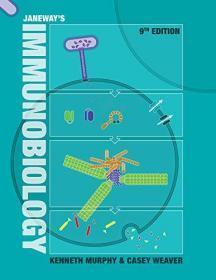现货  Janeway's Immunobiology 英文原版 免疫生物学 詹韦  Charles A. Janeway
