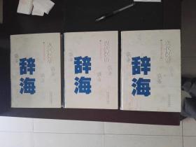 现代汉语辞海 一、二、三卷全