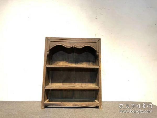 清代,文房茶道小柜,品好完整,可置茶及茶具楠木尺寸52*18*63厘米高