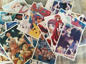 卡通老照片 打包88张 灌篮高手,宠物小精灵,魔法少女樱,名侦探柯南等