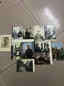 明信片(10张一套全):鲁迅(三)~~~文物出版社78年1版1印