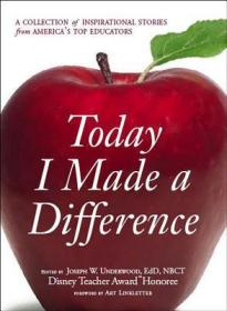 预售 英文预定 Today I Made a Difference: A Collecti