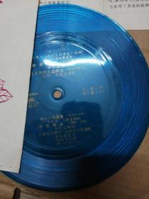 小薄膜唱片:故事片《冰山上的来客》插曲(1963年电影录音)(有歌词)