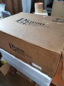 毕加索画集   Picasso347  1盒2册全   附带2张装裱用版画! 1000套限定版  珍藏版  1977年 大开本  重约25斤!包邮