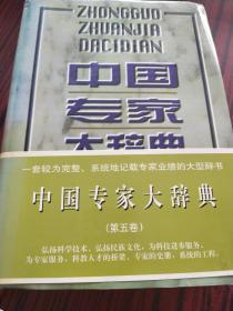 中国专家大辞典.5