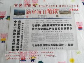 新华每日电讯2016年10月29日