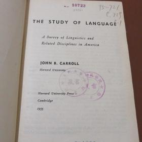 THE STUDY OF LANGUAGE (语言的研究)