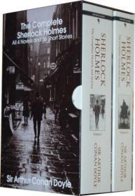 福尔摩斯探案全集 英文原版小说 Complete Sherlock Holmes 套装盒装现货