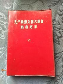 无产阶级文化大革命胜利万岁 上下册 1970年武汉