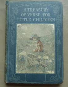 1914年 A Treasury of Verse for Little Children 《儿童诗金库》增补精美彩色插图