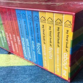原版英文 My First Learning Library 礼盒装 10册纸板书 小开本