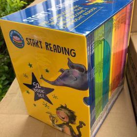 哈考特分级阅读 Hachette Start Reading 52册儿童启蒙 礼盒装