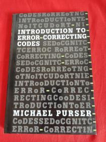 Introduction to Error-correcting Codes   (小16开,硬精装)   【详见图】