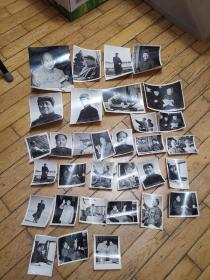 毛主席照片,毛林照片,32张,尺寸不一。