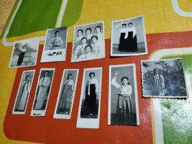 老照片 ;穿朝鲜服饰(10张)