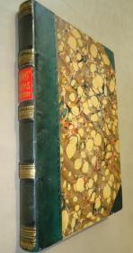 1862年Poems of FELICIA HEMANS《菲丽西亚•希曼斯诗集》3/4小牛皮装桢 大开本古董书 增补插图 品佳