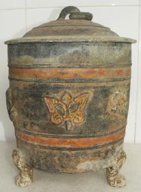 彩陶文化  彩陶罐   彩陶