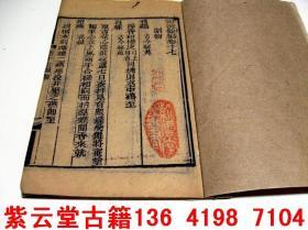 嘉庆21年(1816年)版;中医美容.养身古籍《卫济余编》17]   #5202