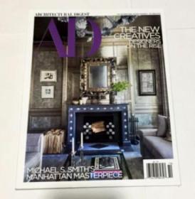 AD 英文杂志 家居杂志 装修杂志 设计杂志 2018年10月(货号:大4)