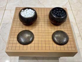 日本古董老围棋桌