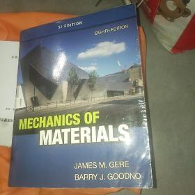 mechanics of materials材料力学 英文原版大16开,2013年版
