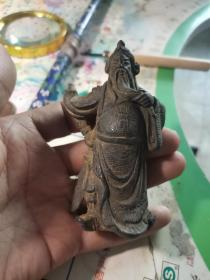 铜关公像武财神